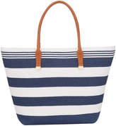 Phase Eight Stripe Straw Bag