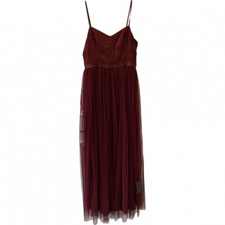 Needle & Thread Burgundy Dress for Women
