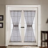 Lush Decor Antique Door Panel 4-Piece, 42-Inch by 72-Inch, Gray