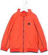 Armani Junior zipped windbreaker jacket - kids - Polyester - 6 yrs