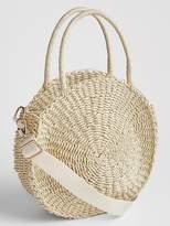 Gap Straw Circle Bag