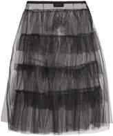Simone Rocha Ruffled tulle midi skirt