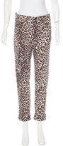 Rag & Bone Leopard Print Jeans