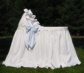 The Well Appointed House Lulla Smith Newport Cotton Baby Bassinet-Available in a Variety of Colors