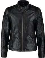 Gipsy Baxter Faux Leather Jacket Schwarz