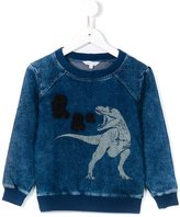 Little Marc Jacobs dinosaur print sweatshirt - kids - Cotton/Polyester/Spandex/Elastane/Viscose - 2 yrs