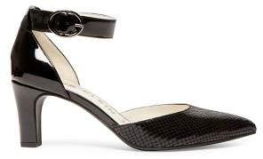 Anne Klein Textured Ankle-Strap Pumps
