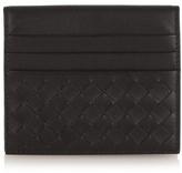 Bottega Veneta Intrecciato Leather Folded Cardholder