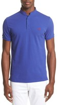 The Kooples Men's Contrast Officer Collar Polo