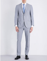 Corneliani Pin-stripe slim-fit wool suit