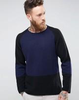 Nudie Jeans Vladimir Block Print Sweater