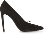 Balenciaga All Time Low high-heel suede pumps