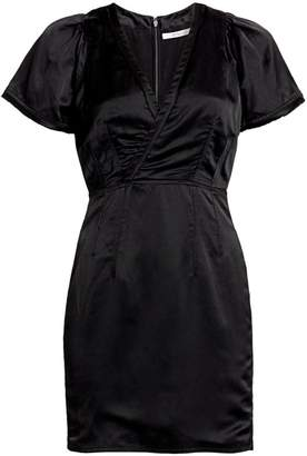 Derek Lam 10 Crosby Surplice Strech-Linen Sheath Dress