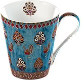 V&A Creative Tops 1-Piece Bone China Gujarat Fine Bone China Mug in a Gift Box
