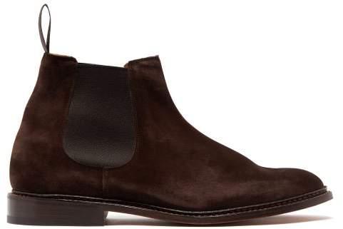 9c06157fe45 Roxbury Suede Chelsea Boots - Mens - Dark Brown