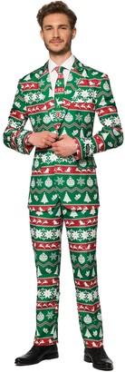 Nordic Men's Suitmeister Christmas Green Suit