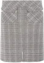 Dorothy Perkins Multi Coloured Check Jacquard Mini Skirt