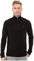 U.S. Polo Assn. Solid 1/4 Zip Sweater