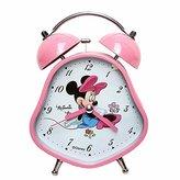 YOURNELO Cute Cartoon Disney Boy's Girl's Numeral Desktop Alarm Clock (Minnie)