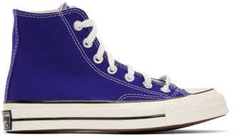 Converse Blue Chuck 70 High Sneakers