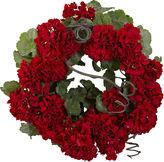 Asstd National Brand 17 Geranium Wreath