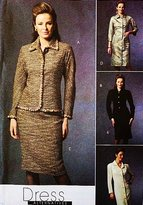 Mccall's 4918 Women's Wardrobe Pattern Dress, Jacket, Sewing Pattern Size 8-10-12-14