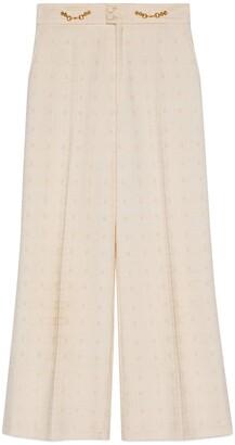 Gucci Wide tweed pant
