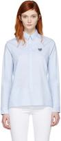 Kenzo Blue Tiger Shirt
