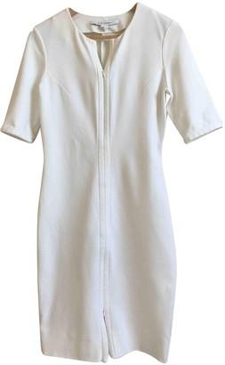 Diane von Furstenberg White Polyester Dresses