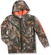 Carhartt Camo Realtree Xtra® Logo Fleece Zip Sweatshirt - Boys