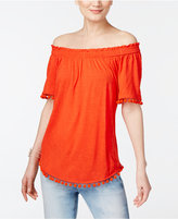 INC International Concepts Popsicle Off-The-Shoulder Top, Only at Macy's