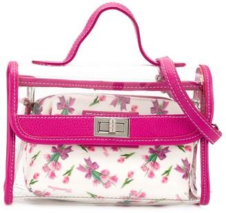 MonnaLisa Transparent Tote Bag