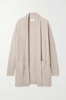 Allude Wool And Cashmere-blend Cardigan - Beige