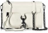 Rebecca Minkoff Mini Mac Antique White Leather Crossbody Bag