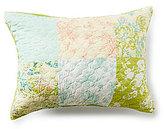 Jessica Simpson Elisabeth Ogee-Quilted Floral Patchwork Sham