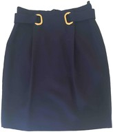 Ungaro Navy Skirt for Women Vintage