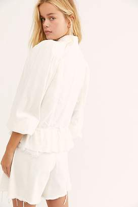 Free People Ariana Jacket by Free People, White, XS