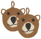 Now Designs Tawashi Boris Bear Animal Dish Scrubbers