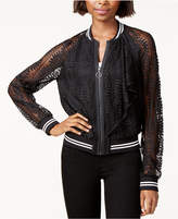 Rachel Roy Lace Bomber Jacket, Created for Macy's