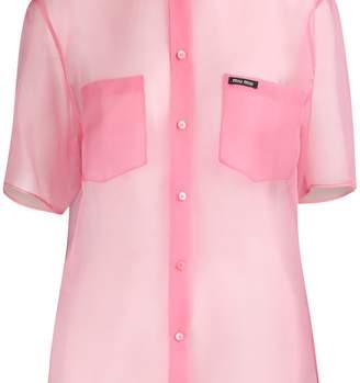 Miu Miu Silk shirt