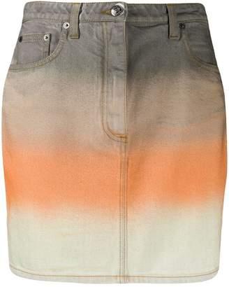 Missoni striped denim skirt