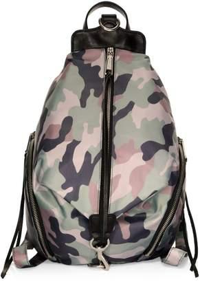 Rebecca Minkoff Julian Camo-Print Backpack