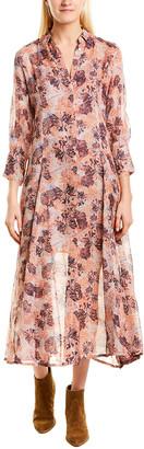 IRO Maddie Sheer Shirt Dress