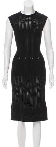 Alaia Wool Fit and Flare Dress w/ Tags
