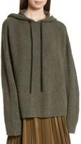 Robert Rodriguez Women's Merino Wool & Cashmere Reversible Hooded Sweater