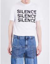 Mcq Alexander Mcqueen Silence Cotton-jersey T-shirt