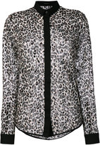 Unconditional Leopard mesh shirt