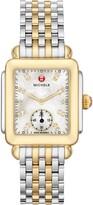 Michele Deco Mid Diamond Dial Watch Head & Bracelet, 29mm
