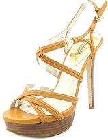 MICHAEL Michael Kors Cicely Platform Women US 8 Brown Platform Heel