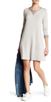 Bobeau Long Sleeve Sweater Dress (Petite)